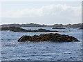 NM6185 : Arisaig skerries by Oliver Dixon