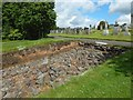 NS5572 : Culvert in stone base of the Antonine Wall by Lairich Rig