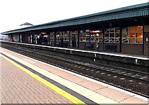 SU5290 : Pumpkin Cafe, Didcot Parkway railway station by Jaggery