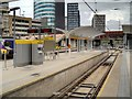 SJ8499 : New Metrolink Platform at Victoria Station (July 2015) by David Dixon