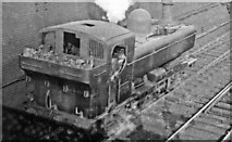 TQ2282 : Old Oak Common East: GWR Pannier Tank going to Paddington, 1946 by Ben Brooksbank