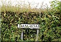 J5478 : Dam Road name sign, Cotton, Donaghadee (July 2015) by Albert Bridge