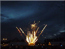 TL4558 : Firework display at The Big Weekend, Cambridge - No 3 by Richard Humphrey