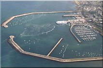 O2429 : Dun Laoghaire: aerial 2003 by Chris