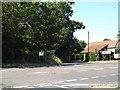 TM1172 : Bull Road, Thornham Parva by Adrian Cable