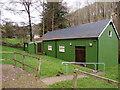 SO5306 : Whitebrook Village Hall by Jaggery