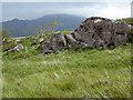 NG7306 : Rocky outcrop, Samadalan by Oliver Dixon