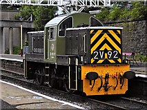 SD8010 : Ernest at Bolton Street Station by David Dixon