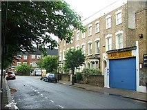 TQ3385 : Gunstor Road, Stoke Newington by Chris Whippet