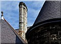 J3372 : Chimney, Fisherwick Presbyterian church, Belfast (July 2015) by Albert Bridge