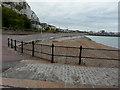 TR3241 : New railings along the sea wall by John Baker
