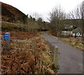 SS8695 : Take care - busy road ahead, Cymmer by Jaggery