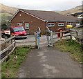 SS8695 : Cycle route from Cymmer reaches Croeserw by Jaggery