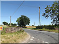 TM1070 : Workhouse Road, Thornham Magna by Adrian Cable