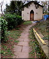 SO5306 : Entrance to the Old Baptist Chapel, Whitebrook by Jaggery