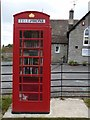 ST5126 : Phone Box Library, Kingsdon by Becky Williamson