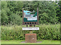 TG1619 : Haveringland village sign by Adrian S Pye