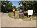 TG1313 : The Street Postbox by Adrian Cable