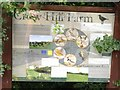 TL0854 : Crow Hill Farm noticeboard by Dave Thompson