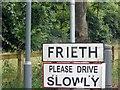 SU7990 : Sign entering Frieth by David Howard