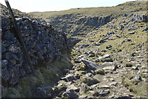 SD8965 : Pennine Way in dry Valley by N Chadwick