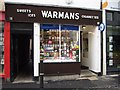 SO8554 : Warmans sweet shop by Philip Halling