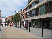 SO8554 : Southern end of Worcester High Street by Philip Halling