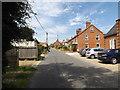 TG1924 : High Street, Marsham by Geographer