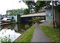 SJ8844 : Whieldon Road Bridge 112 crossing the Trent & Mersey Canal by Mat Fascione