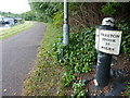 SJ8844 : Trent & Mersey Canal Milepost in Stoke-on-Trent by Mat Fascione