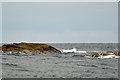 NM2866 : Cairns of Coll Rocks by John Allan