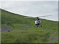 NF0999 : Helicopter take-off by John Allan