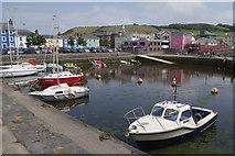 SN4562 : Aberaeron Harbour by Stephen McKay