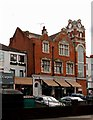 TQ2178 : Old fire station building, Chiswick High Road, London W4 by Julian Osley