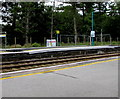 SN3610 : Newly-raised part of platform 2, Ferryside railway station by Jaggery