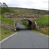 SE8499 : Railway bridge at Moorgates by David Smith