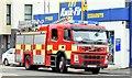 J4974 : Fire appliance, Newtownards - July 2015 (3) by Albert Bridge