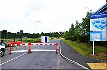 SO8555 : Extension of McKenzie Way, Great Western Business Park, Worcester by P L Chadwick