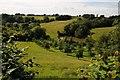 SO6869 : Farmland at Lindridge by Philip Halling
