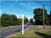 TM1216 : Road junction at St. Osyth by Malc McDonald