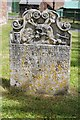 SO6268 : Old gravestone, Rochford churchyard by Philip Halling