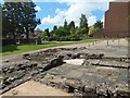 NS5472 : Remains of Roman bath-house at Bearsden by Lairich Rig