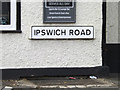 TM1349 : Ipswich Road sign by Adrian Cable