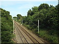 TM0521 : Railway tracks near Wivenhoe by Malc McDonald