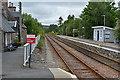 NC5803 : The northbound platform, Lairg station by Nigel Brown