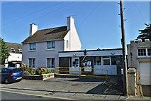 SM7525 : Police station, St Davids by Philip Pankhurst