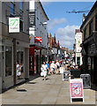 TQ1730 : Horsham: Middle Street by John Sutton
