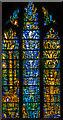 SO8932 : Stained glass window, Tewkesbury Abbey by Julian P Guffogg