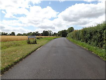 TM1469 : Entering Thorndon on Rishangles Road by Geographer
