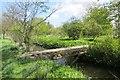 NT5475 : Bridge over Mill Lade by Richard Webb